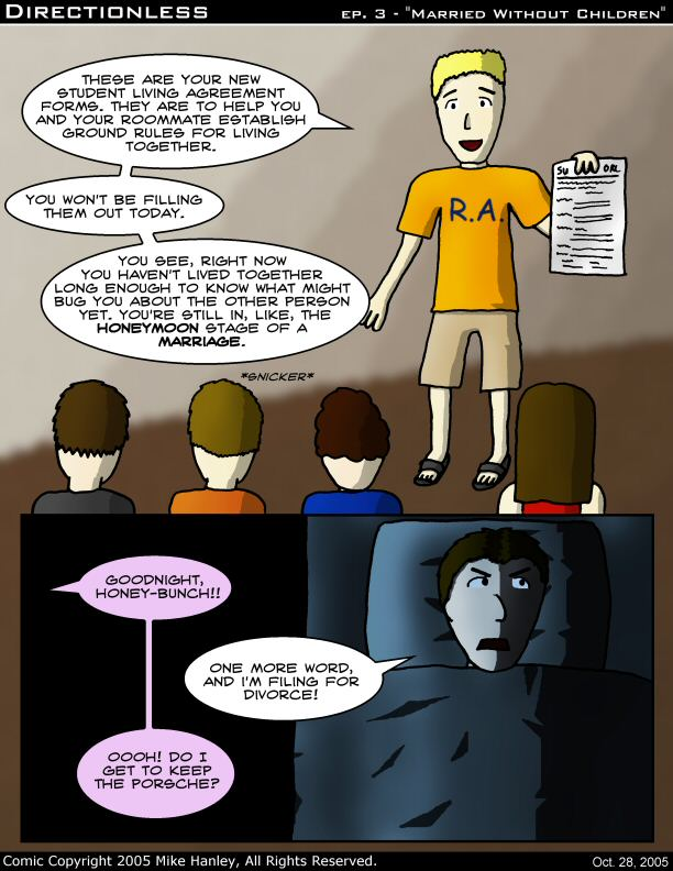 [Comic: Classic #3: Married Without Children]